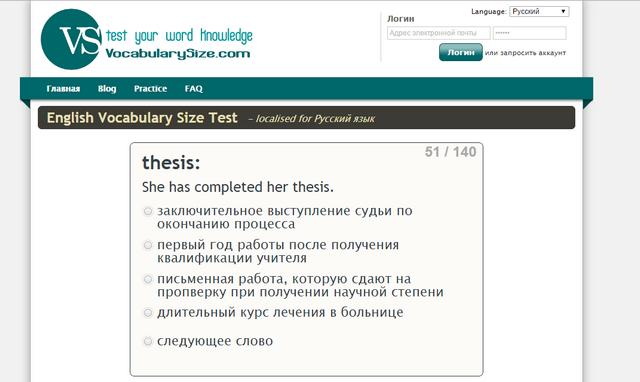 тест на знание слов пола нейшена