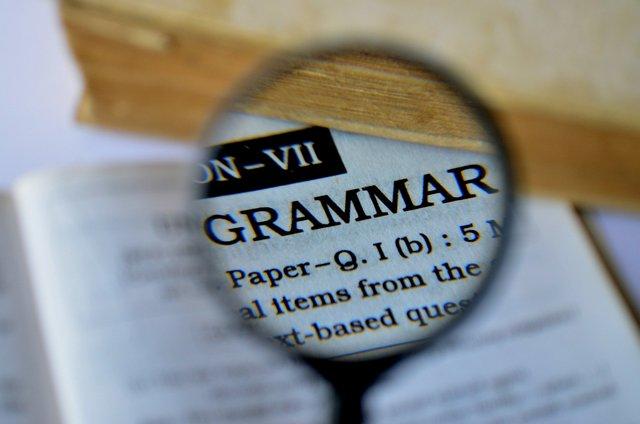 тест по грамматике английского языка