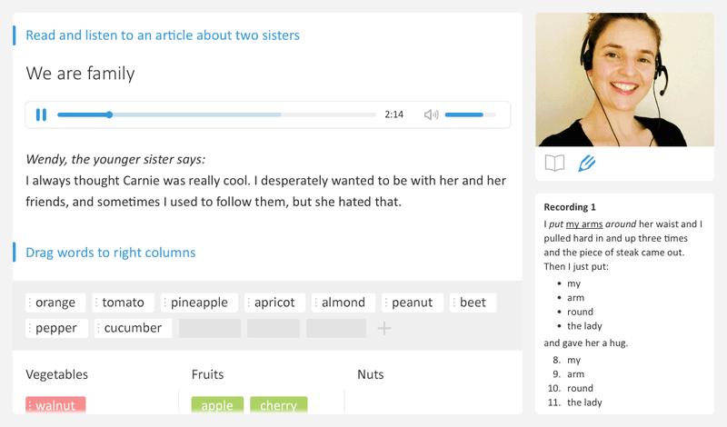 английский для начинающих - онлайн-репетитор