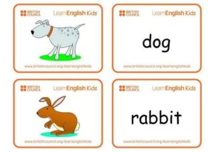 английский для детей карточки для распечатки