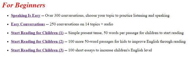 тексты для чтения на английском для начинающих