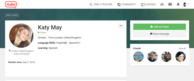 italki сайты для практики иностранных языков