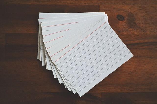 как быстро выучить много английских слов по карточкам