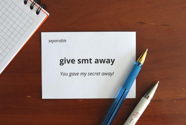 карточки фразовые глаголы