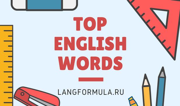 лексика английского языка по темам
