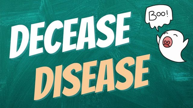 decease или disease