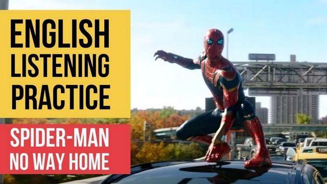 Аудирование на английском – Человек-паук: нет пути домой