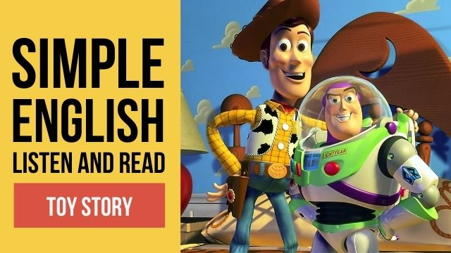 история игрушек на английском