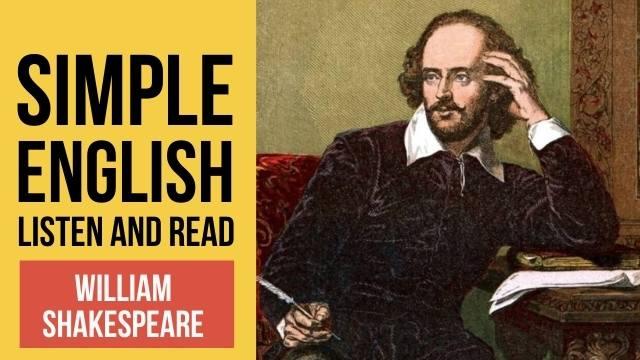 шекспир текст на английском языке