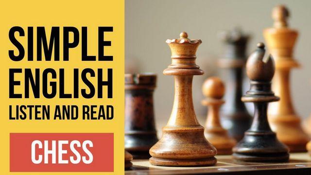 текст про шахматы на английском