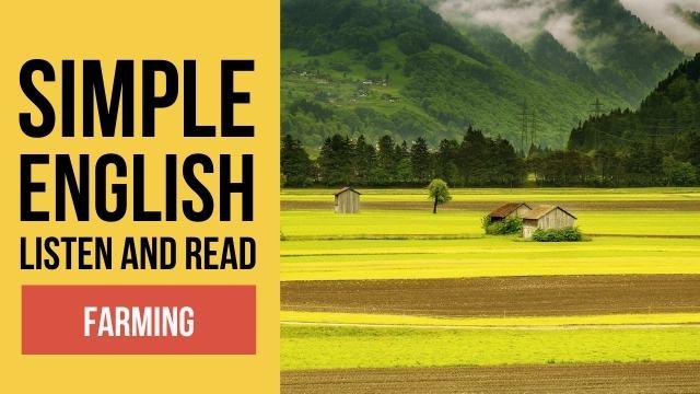 фермерство простой текст на английском